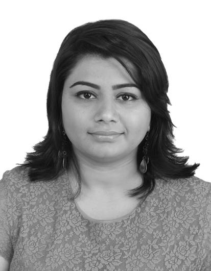 Meghali Sharma, Competitive Intelligence Analyst